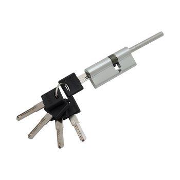 Цилиндр Ключ-фиксатор со штоком Groff BFS-75-45/30 C Хром (Латунь, 5 ключей)