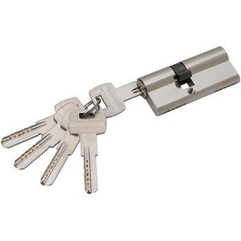 Цилиндр Ключ-ключ Apecs SM-70 70*30*40 NI Никель