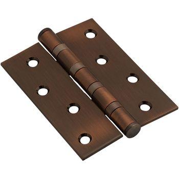 Петля врезная стальная 100*70*2,5 AC Медь (универс.)
