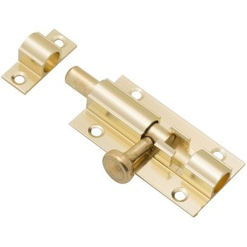 Шпингалет 60 мм Золото