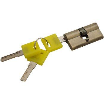 Цилиндр Ключ/ключ Bravo ZK-60-30/30 AB Бронза