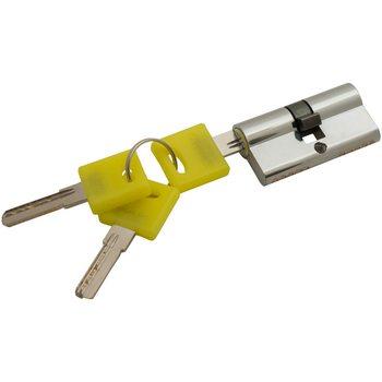 Цилиндр Ключ/ключ Bravo ZK-60-30/30 C Хром
