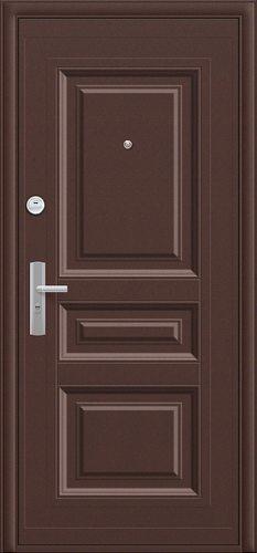 Дверь входная металлическая К700-2-66 в цвете Молотковая эмаль/Молотковая эмаль