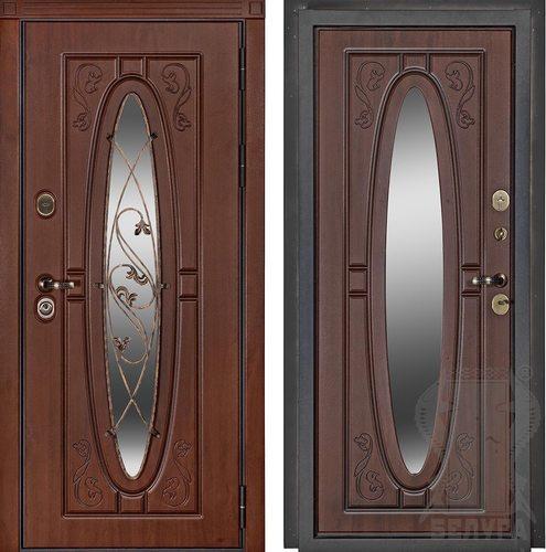 Входная дверь Фаберже (Дуб Темный)