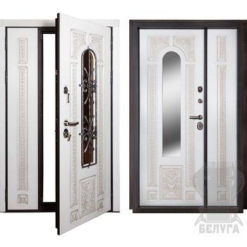 Стальная дверь Лацио двустворчатая