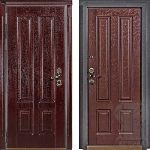 Входная дверь Ницца (Махагон темный)