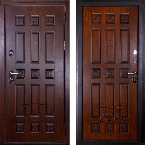 Входная дверь Спарта (Дуб Темный / Золотой Дуб)