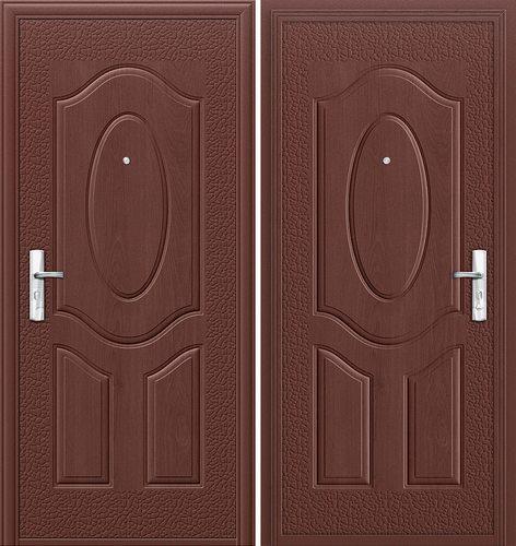 Дверь входная металлическая Е40М-1-40 в цвете Молотковая эмаль/Молотковая эмаль