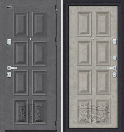 Дверь входная металлическая Porta M К18.K18 в цвете Rocky Road/Silk Road