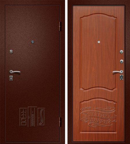 Входная металлическая дверь Афина (Йошкар Ола) в цвете Итальянский Орех