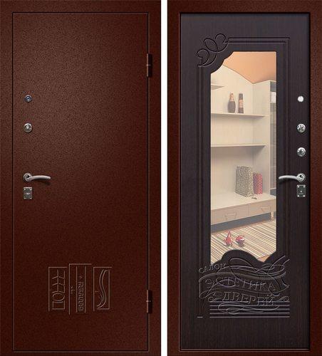 Входная металлическая дверь Ампир (Йошкар Ола) в Цвете Венге