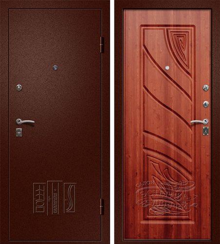 Входная металлическая дверь Астра (Йошкар Ола) в цвете Итальянский Орех