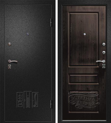 Входная металлическая дверь Евро (Йошкар Ола) в цвете Венге