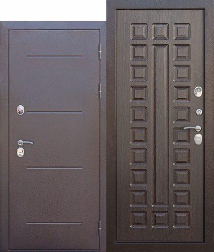 Дверь входная металлическая с терморазрывом Изотерма 11 Венге