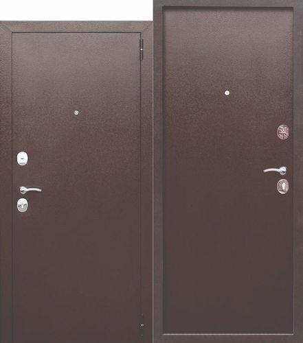Дверь входная металлическая Гарда 6 Металл / Металл