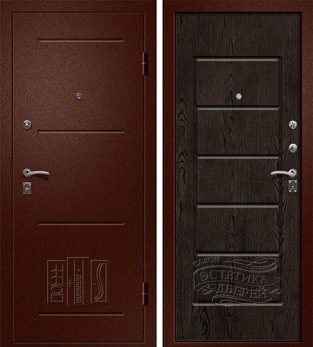 Входная металлическая дверь Порт (Йошкар Ола) в цвете Венге