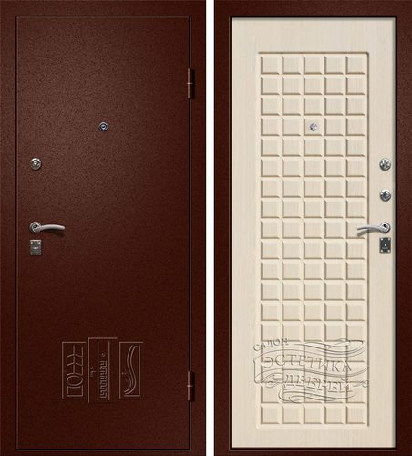 Входная металлическая дверь Йошка Сандал (Йошкар Ола) в цвете Сандал