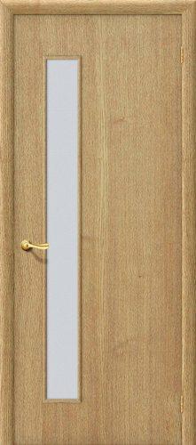 Дверь межкомнатная строительная Гост ПО-1 в цвете Т-01 (ДубНат) остекленная