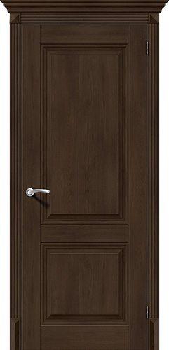 Дверь межкомнатная (экошпон) Классико-32 в цвете Dark Oak