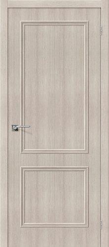 Дверь межкомнатная серии Simple с покрытием экошпон Симпл-12 в цвете Cappuccino Veralinga