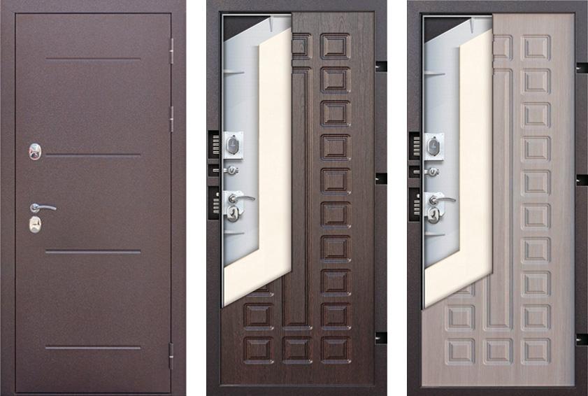 Конструкция двери изотерма